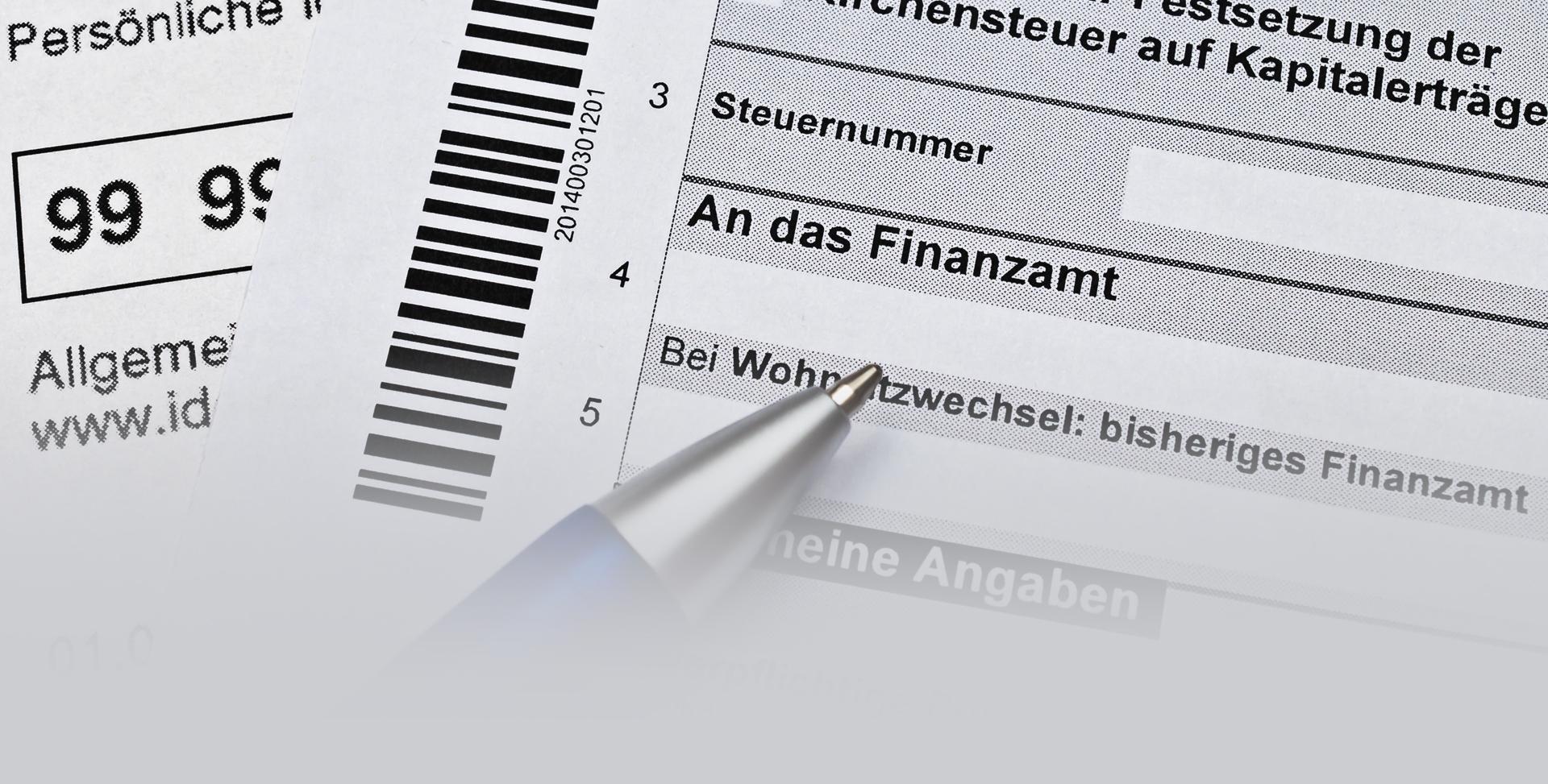 Einkommensteuererklärung Finanzamt - STEUERBERATER IN GERMERSHEIM